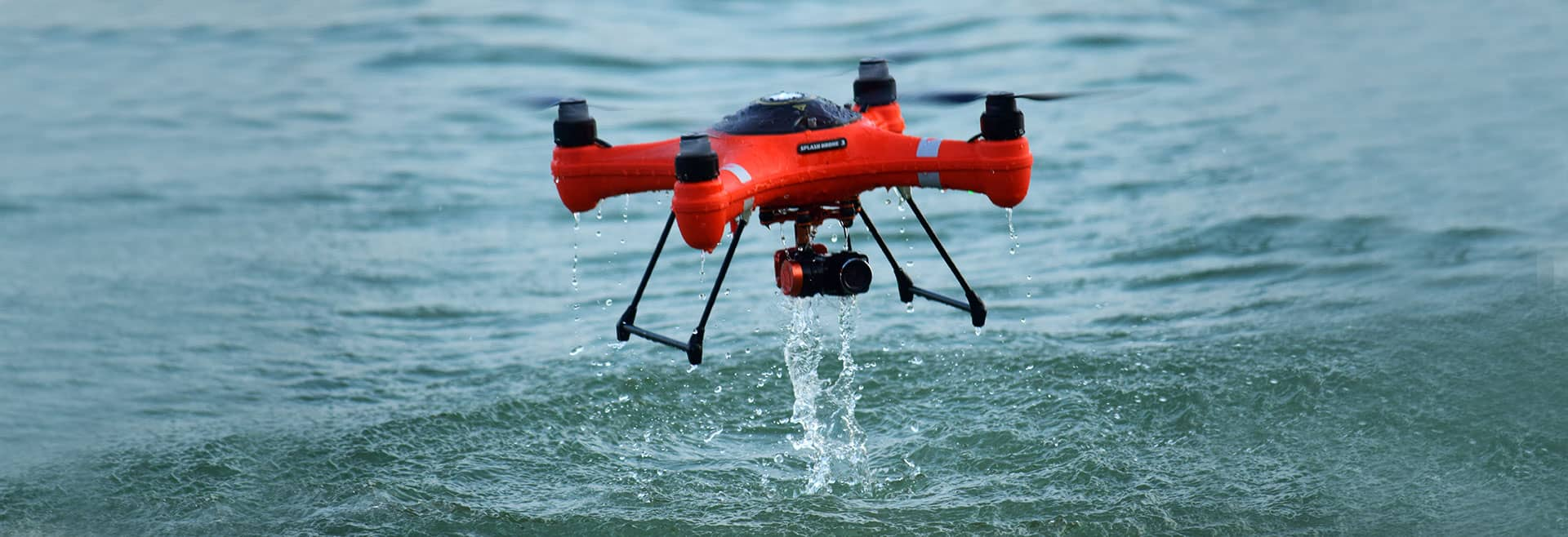 SplashDrone 3+ With PL3 Camera & Bait Release & Ground Station with FREE EXPRESS SHIPPING